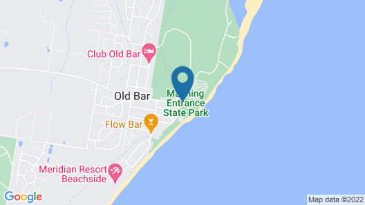 Lanis on the Beach - Old Bar Map