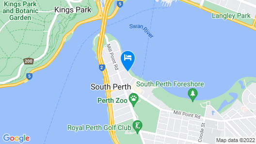 The Peninsula Riverside Serviced Apartments Map