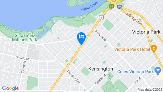 Metro Hotel Perth Map