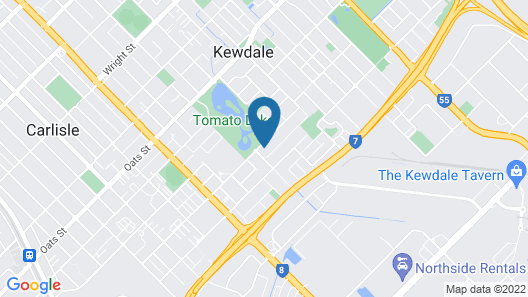 Perth Lakeside Lodge Map