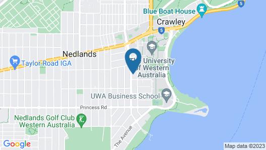Broadway Apartments Map