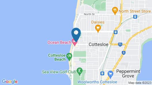 Gold Sands Beach Apartment Map