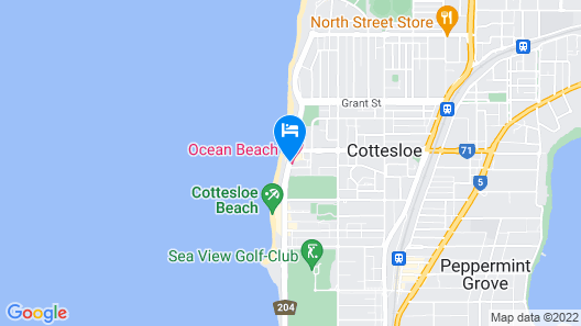 Ocean Beach Hotel Map