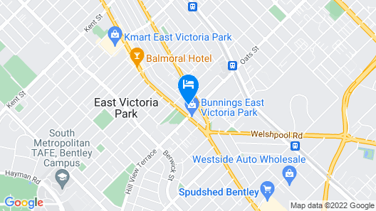 Parkline Apartments Perth Map