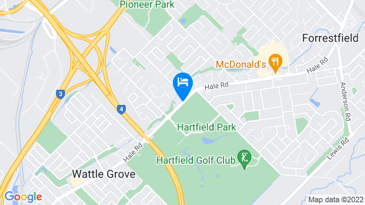 Discovery Parks – Perth Airport Map