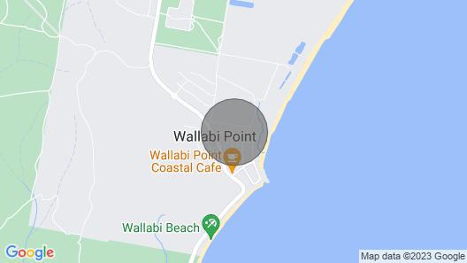 Wallabi Point Accommodation Near the Beach Map