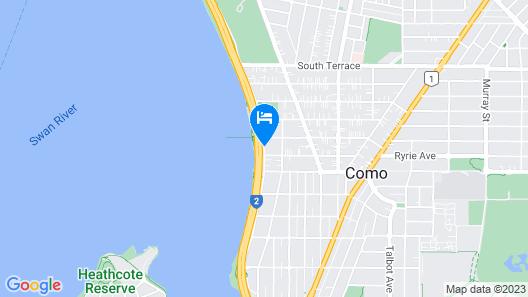 Broadwater Resort Como  Map