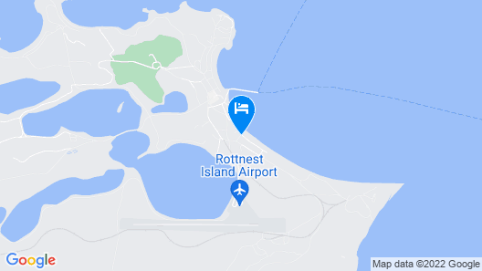 Rottnest Island Authority Map