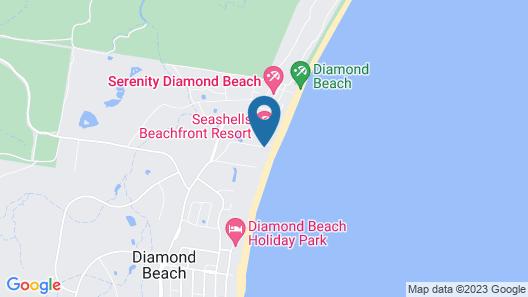 Seashells Beachfront Resort Map