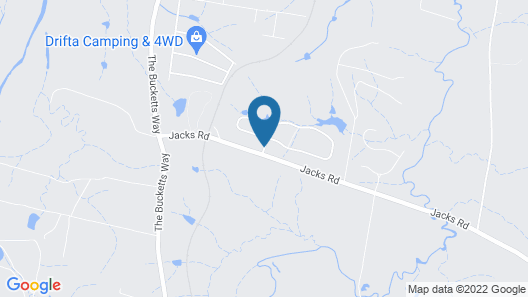 Gloucester on Avon Bed & Breakfast Map