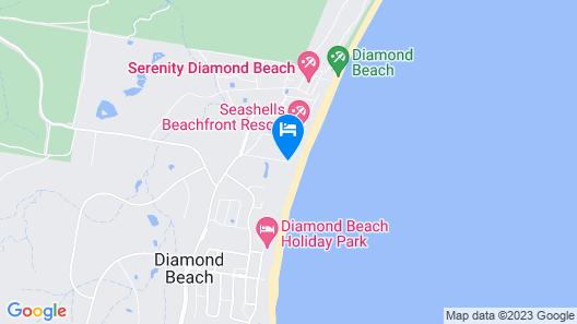 Diamond Beach Resort Map