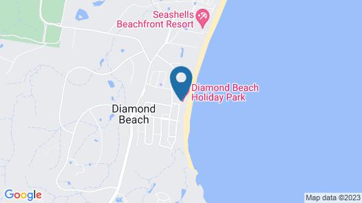 Diamond Beach Holiday Park Map