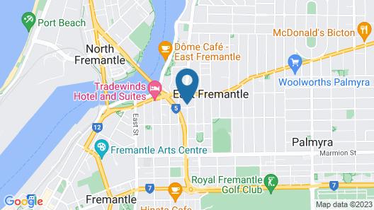 Seashells Fremantle Map