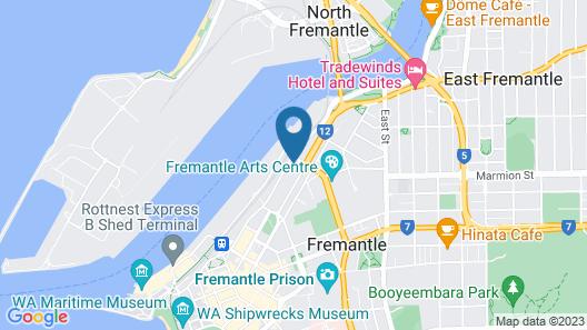 James Street Warehouse Map