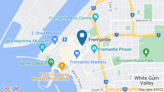 Gallery Serviced Apartments Map