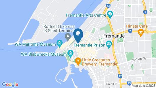 Quest Fremantle Map