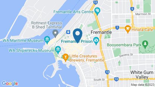 Federal Hotel Map