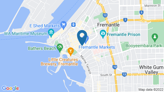 Port Mill Bed And Breakfast Map