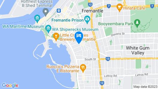 Fremantle Townhouse Unit 4 Map