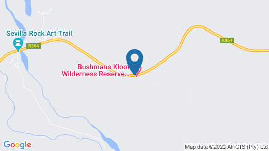 Bushmans Kloof Wilderness Reserve Map
