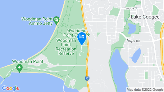 Discovery Parks - Woodman Point Map