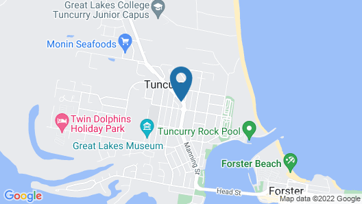 Tuncurry Motor Lodge Map