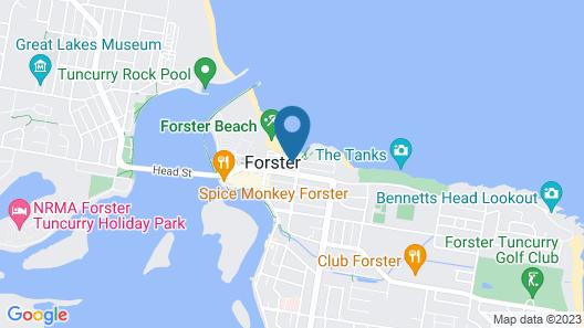 Hibiscus Court Unit 4 Map