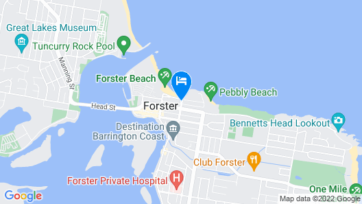 The Dorsal Boutique Hotel Map