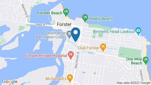 Forster Holiday Village Map