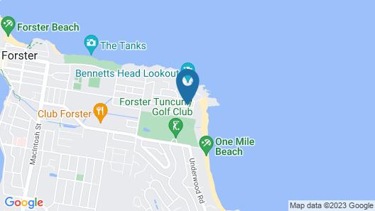 Beach Comber Map