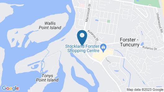 Lani's Holiday Island - Caravan Park Map