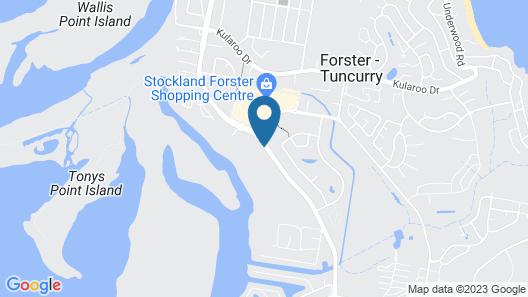 Island Palms Motor Inn Map