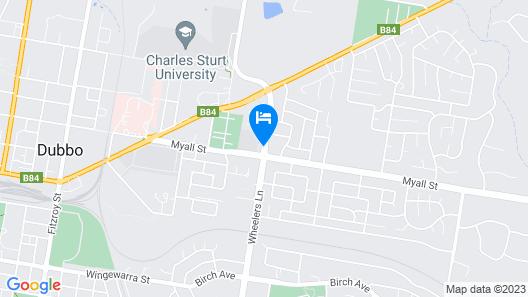 Forest Lodge Motor Inn & Restaurant Map