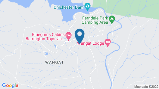 Bluegums Cabins Barrington Tops Map