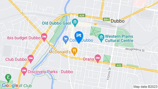 Dubbo R.s.l. Club Motel Map