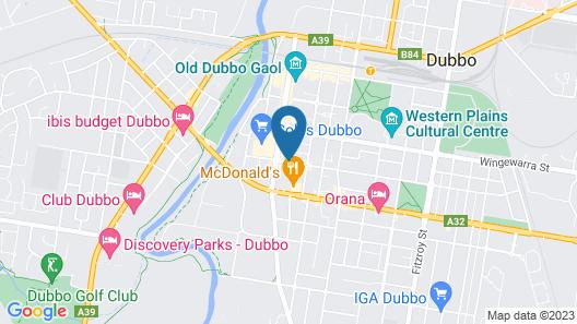 Quest Dubbo Serviced Apartments Map