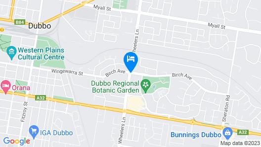 Macquarie Inn Map