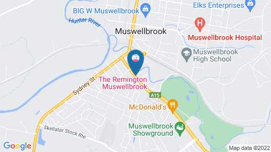 The Remington Muswellbrook Map
