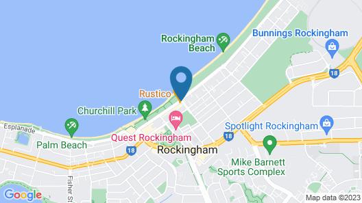 Amawind Rockingham Apartments Map