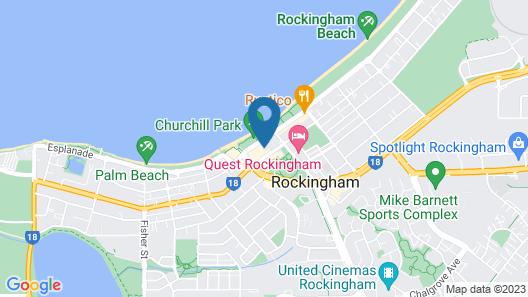 Nautilus by Rockingham Apartments Map