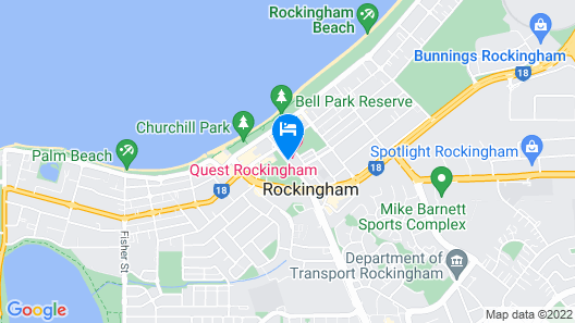 Quest Rockingham Map