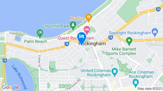 Hotel Clipper Map