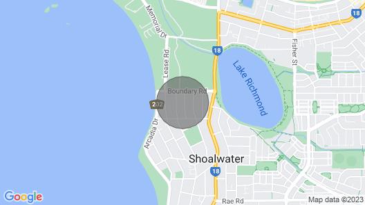Pelicans Rest Shoalwater Map