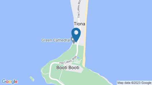 Tiona Palms Holiday Park Map