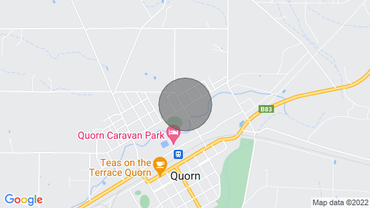 The Quorn-er House- Family and pet Friendly Map