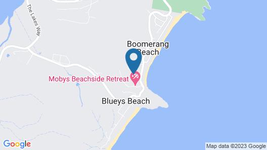 Frangipani Beach House Map