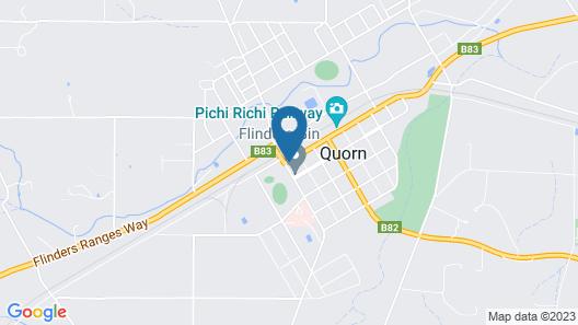 Flinders Ranges Motel Map