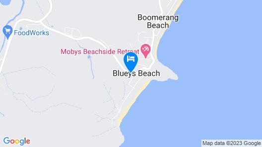 Blueys Motel Map