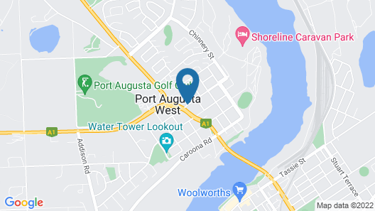 Discovery Parks - Port Augusta Map