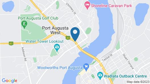 Augusta Courtyard Motel Map